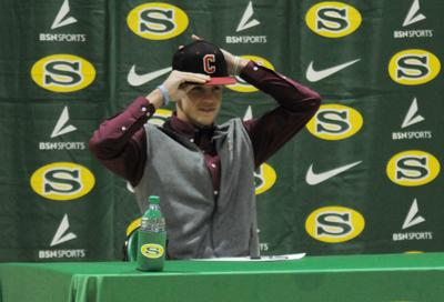 Athletes sign with college programs