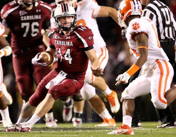 South Carolina, Nebraska QBs effective at running zone read