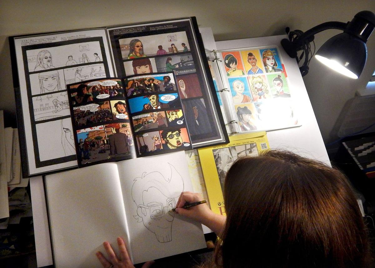 Drawing closer Indie comic artists united by local events, Free Comic Book Day