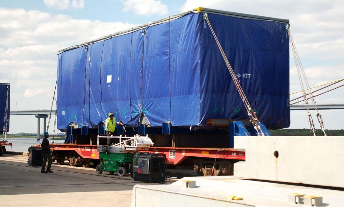 State Ports Authority board to receive financial update today Nuclear cargo arrives Shipment to Columbus Street Terminal is first for new reactors