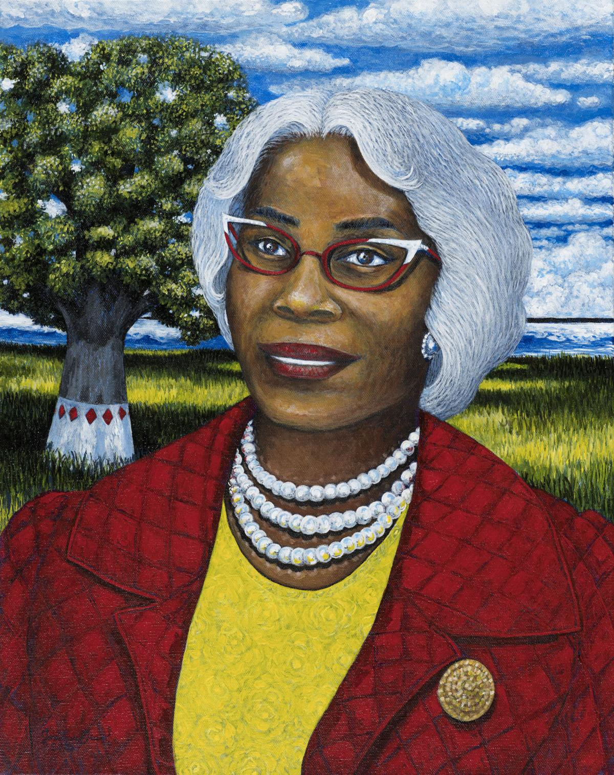 Septima Clark painting by Jonathan Green