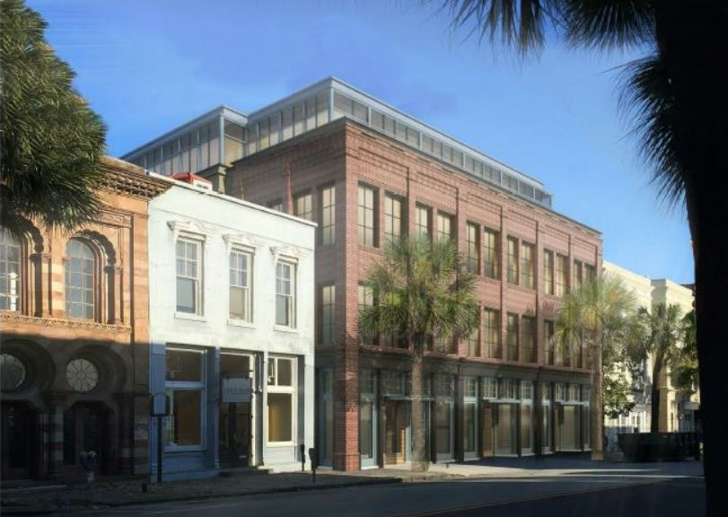Proposed Charleston Office Building Headed Back To Bar