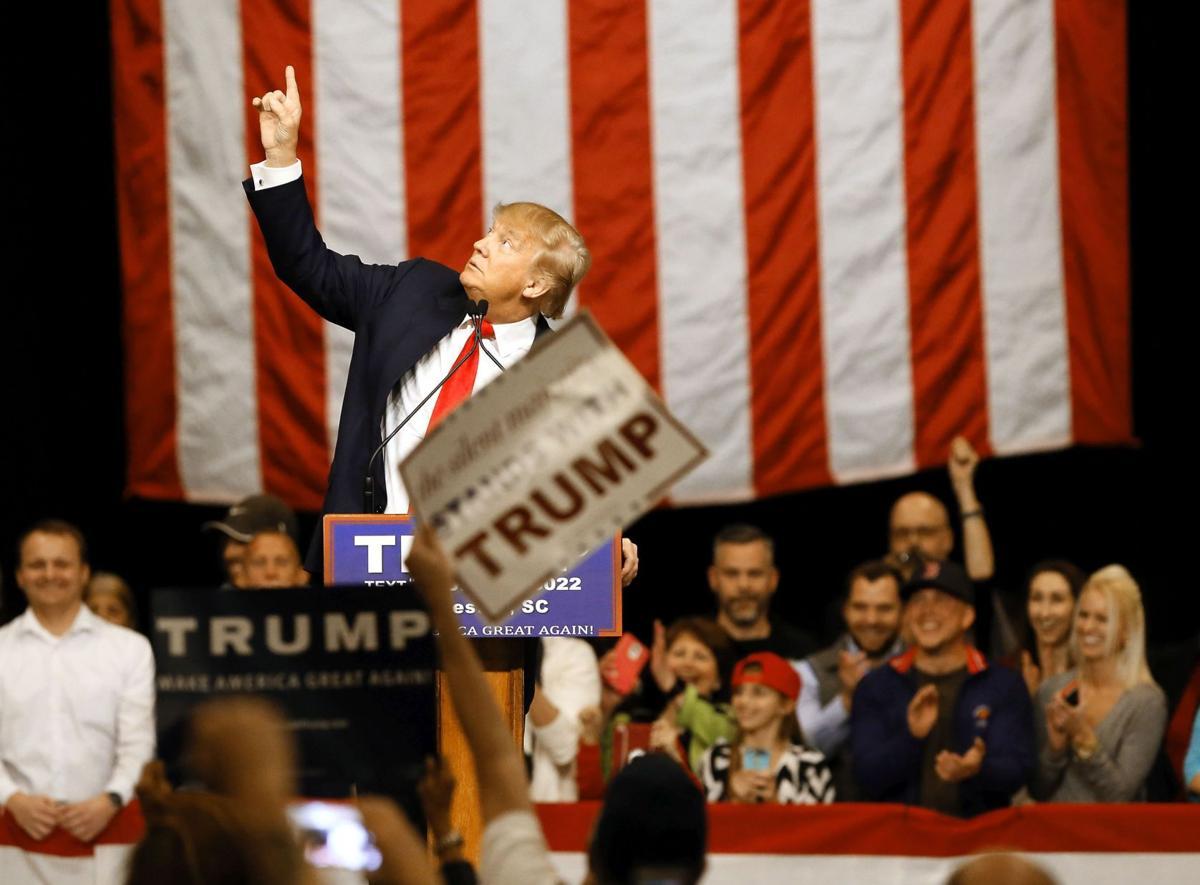 Trump Campaigns in North Charleston
