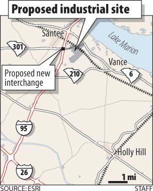Santee area to get industrial hub