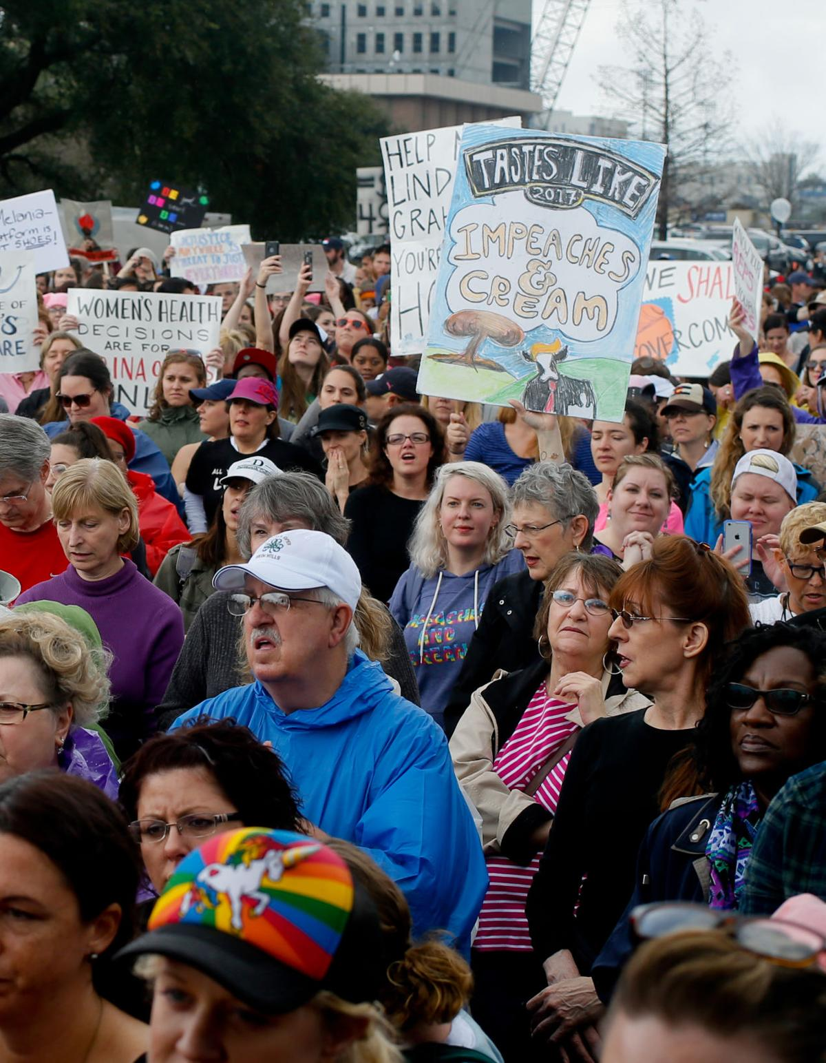 womens march in charleston