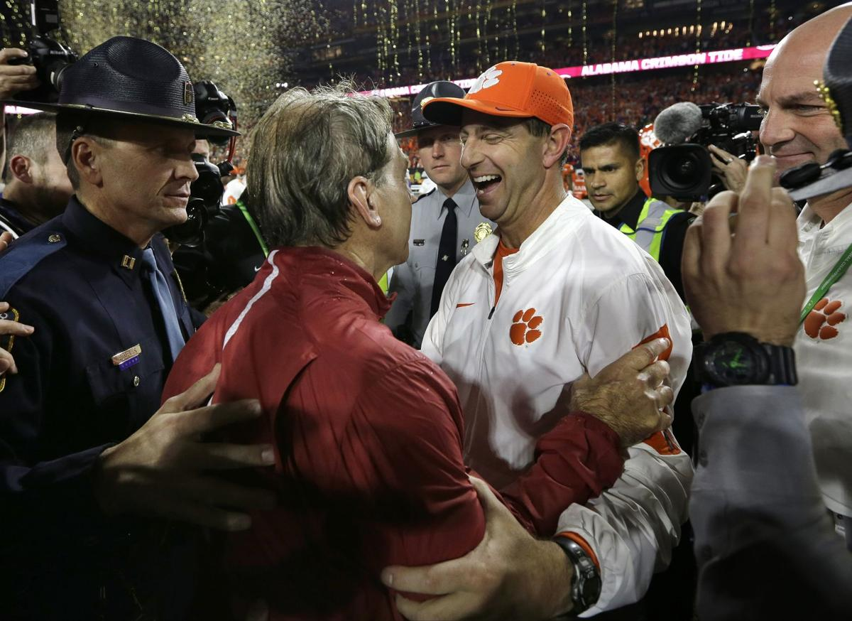 Alabama\'s Nick Saban on Clemson: \'This will be by far the best team ...