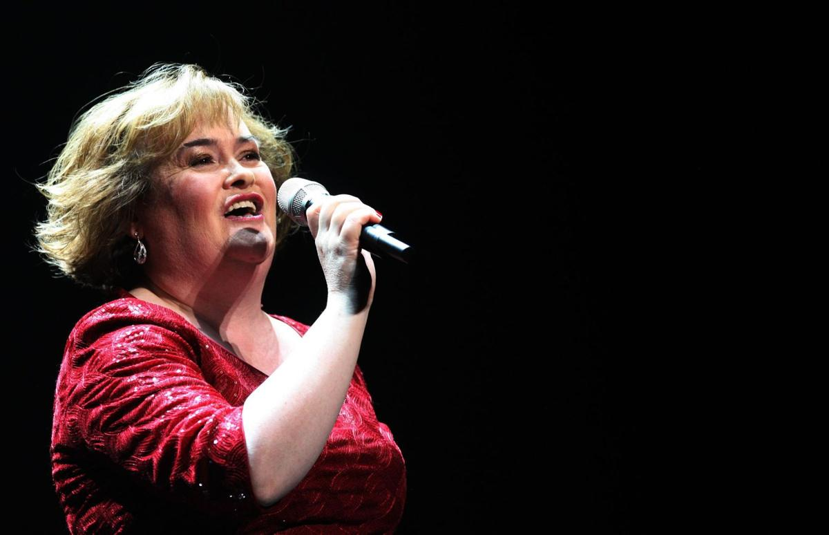 Susan Boyle readies 1st U.S. tour