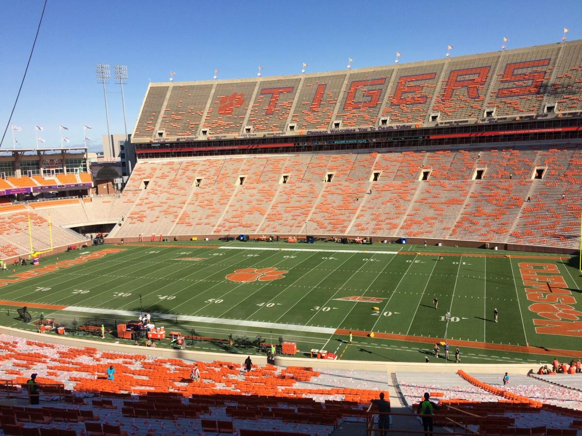 Sorry Lsu But Clemson S Football Stadium Is The Original Death Valley Sports Postandcourier Com Named after legendary coach frank howard, the famed howard's rock was brought to clemson from death valley, california in 1919 by the tiger: football stadium