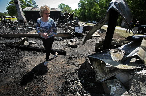 Fire destroys 5 Cypress Campground cabins