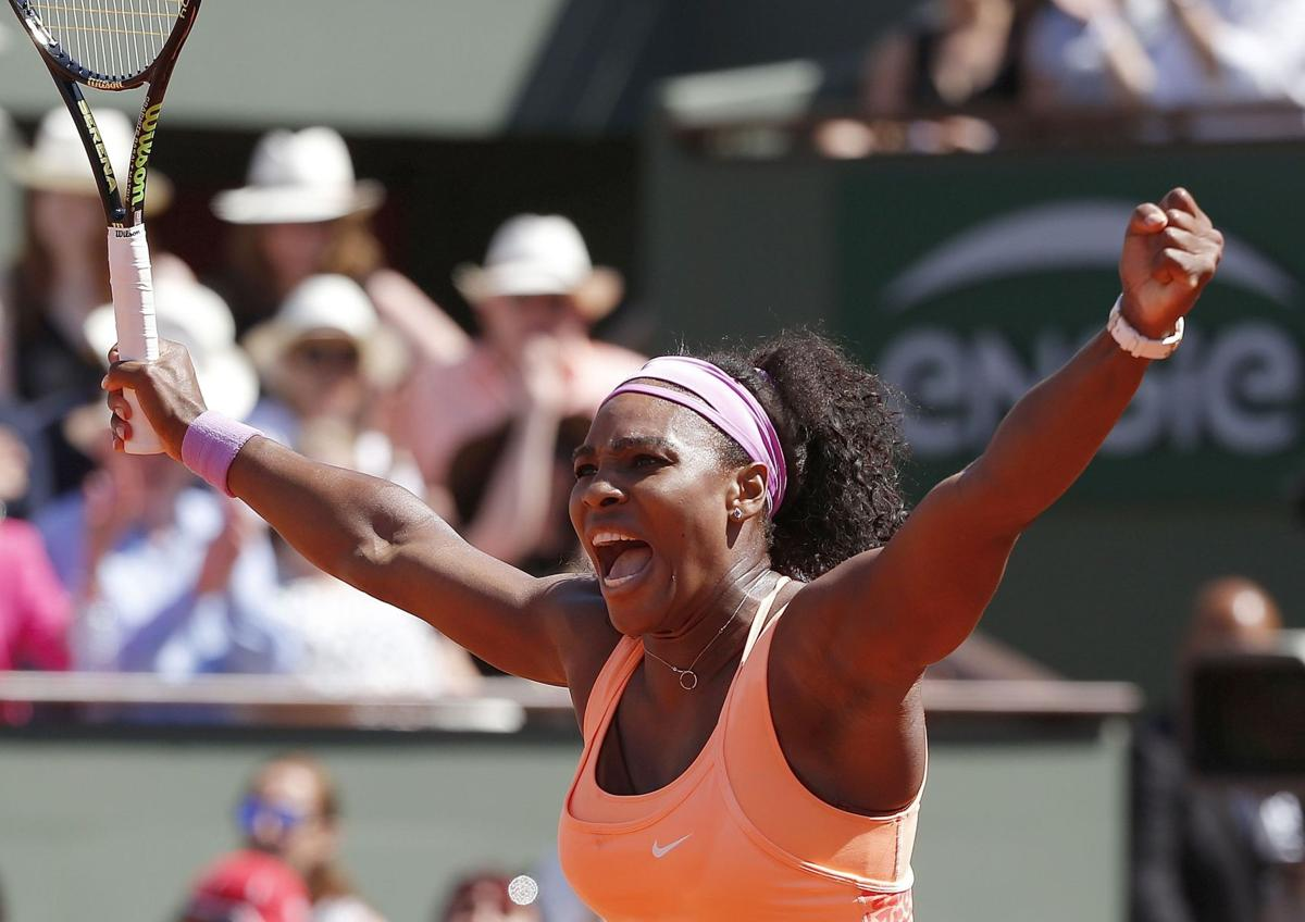 Williams beats Safarova in 3 sets at French for 20th major