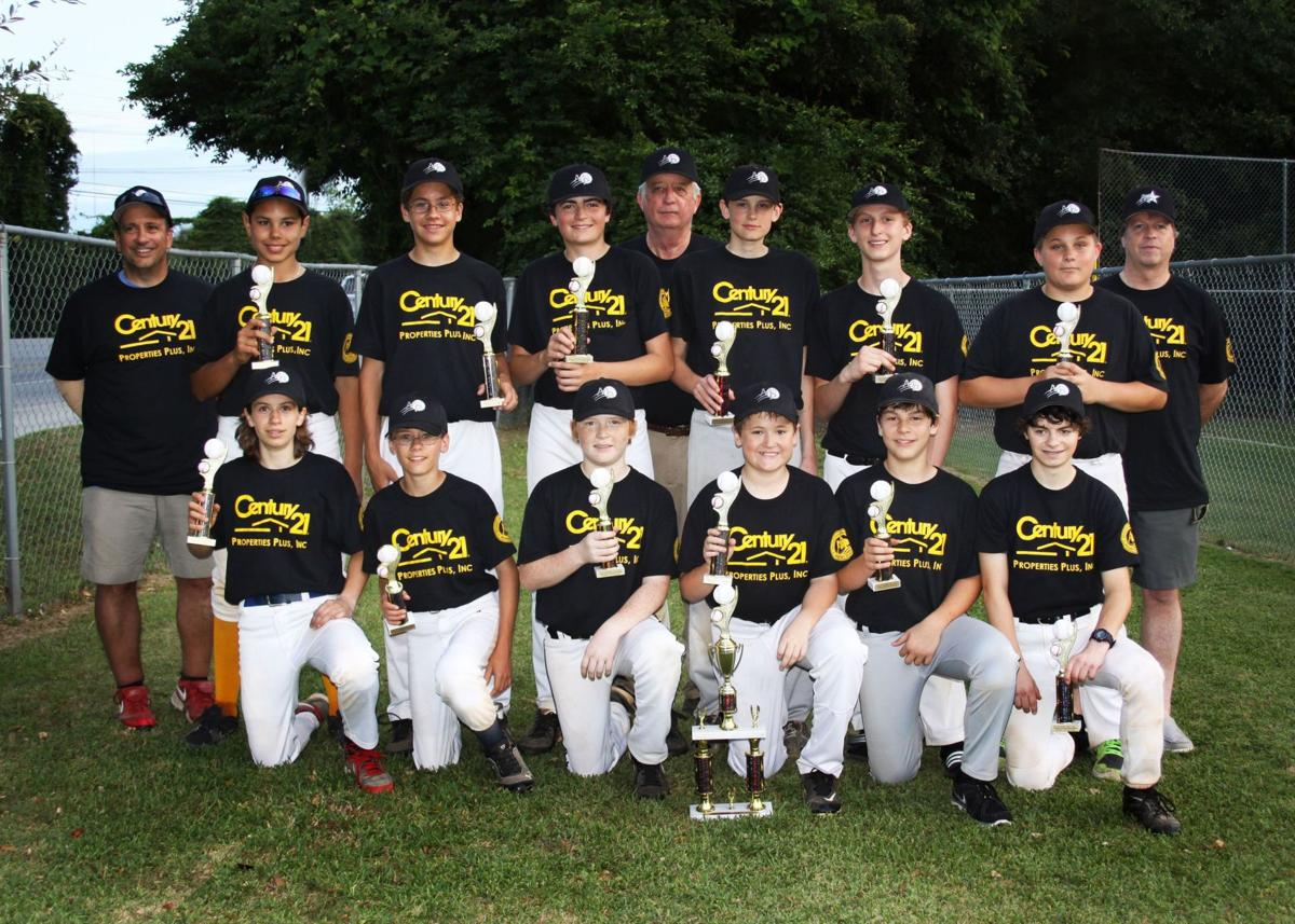 Mount Pleasant Babe Ruth champions announced