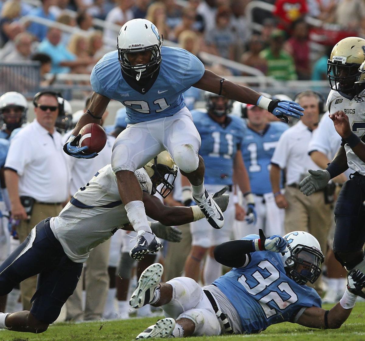 Citadel pulls away from Charleston Southern in season opener