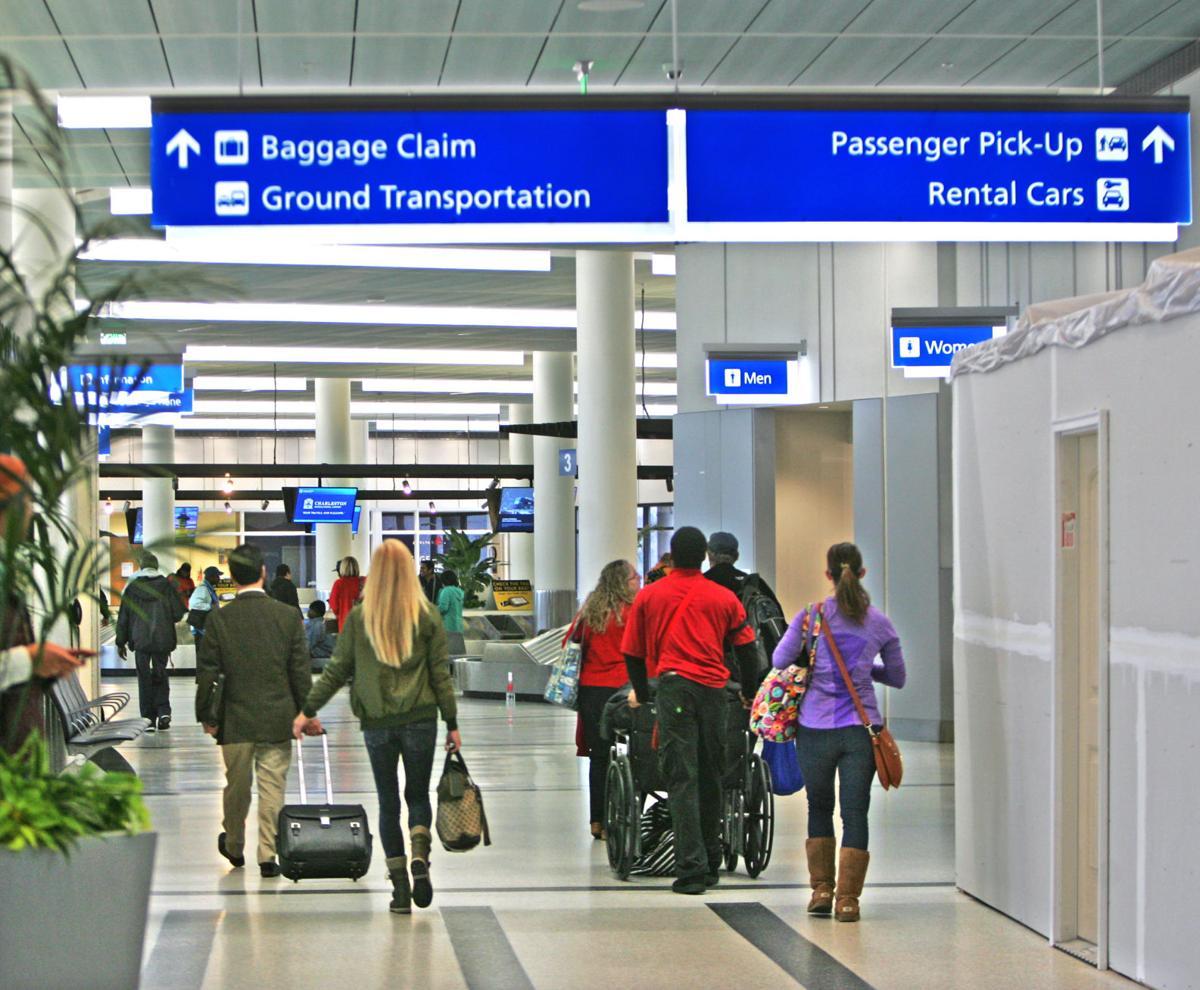 Charleston international airport passengers copy copy