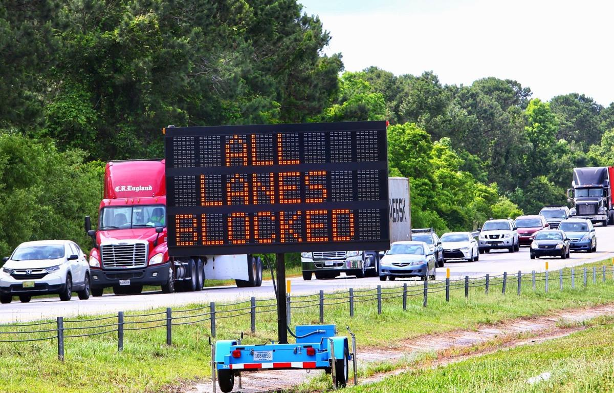 All lanes closed on I-526 (copy)