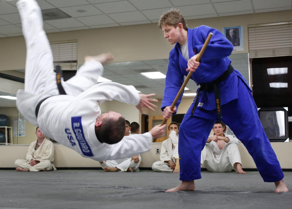 Judo couple