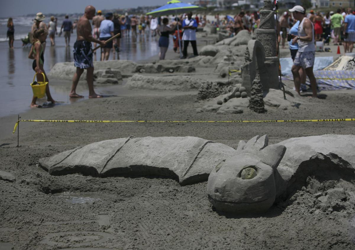 Piccolo Sand Sculpting Contest