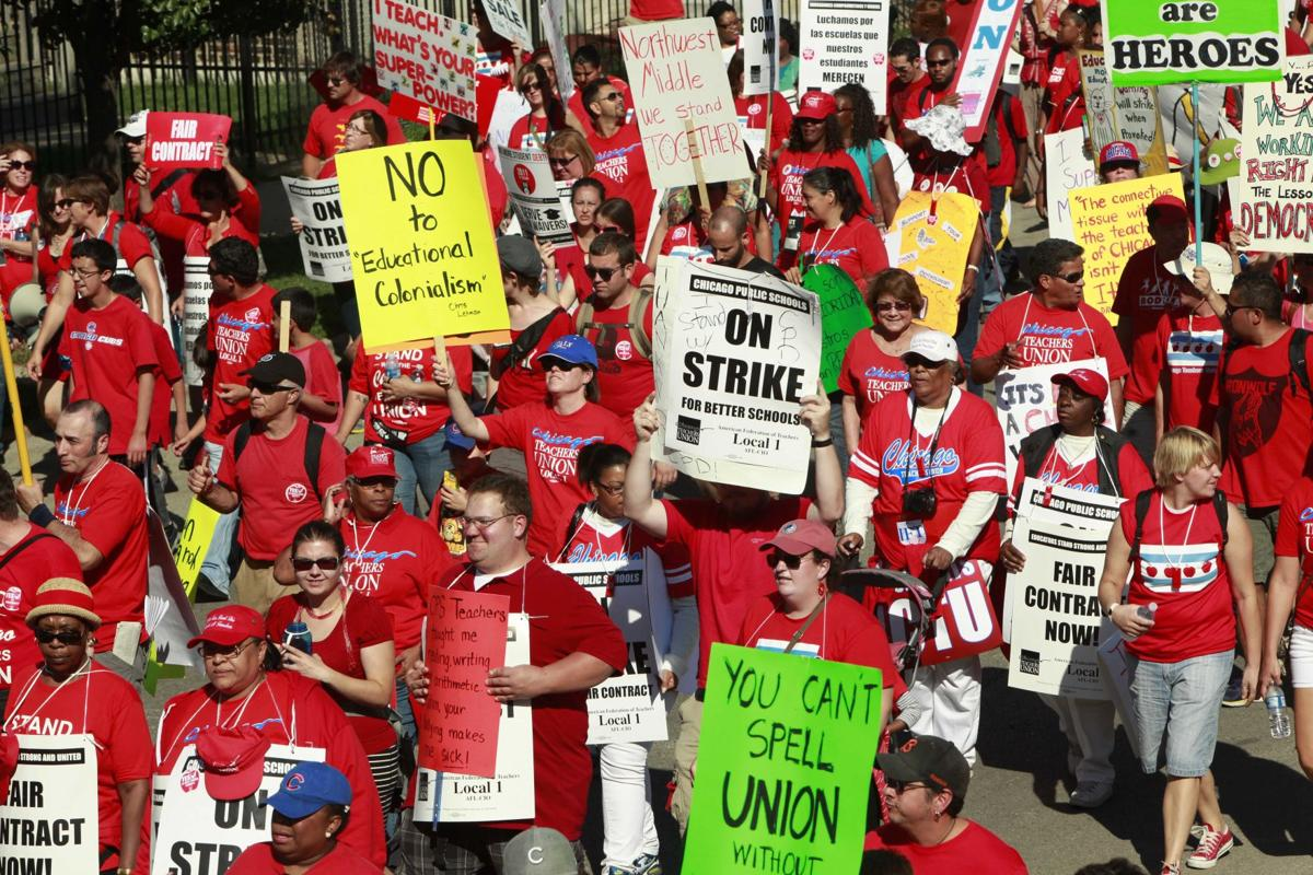 Chicago teachers union to continue strike, city to seek injunction