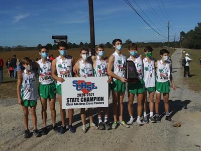 Bishop England High School boys cross country team