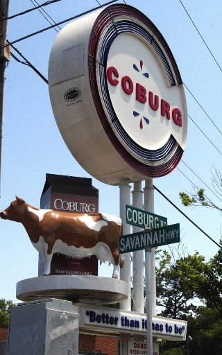 Don't have a cow, man: Coburg Dairy name changes to Borden; landmark cow will stay