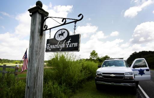 6 horses seized from farm