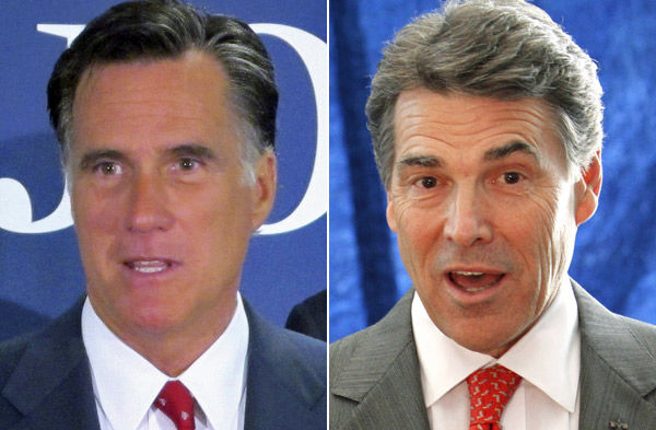 Perry, Romney lead S.C. polling