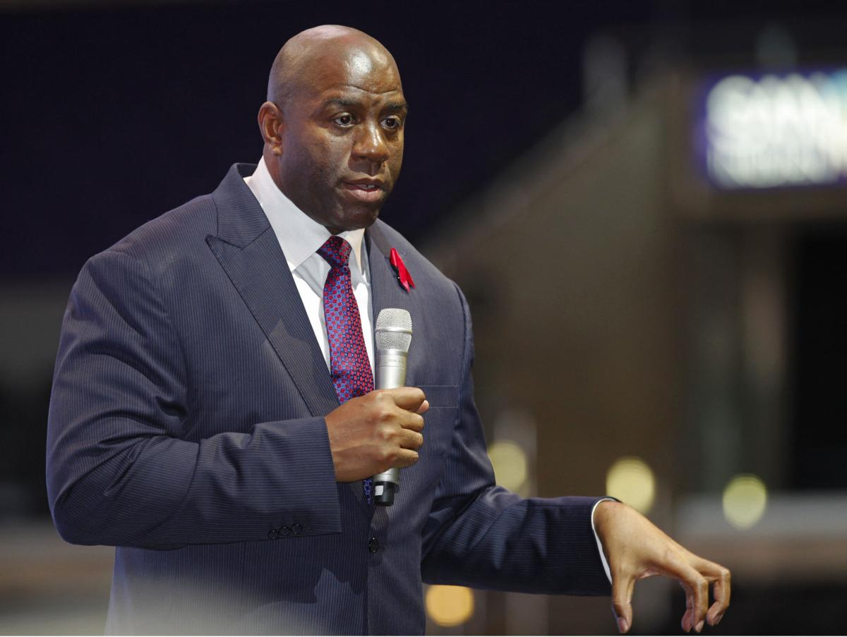 Magic Johnson to establish $2 5 million scholarship at S C State