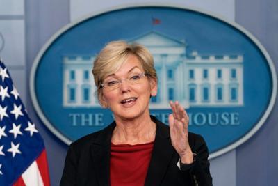 Jennifer Granholm, Briefing Room, AP Photo