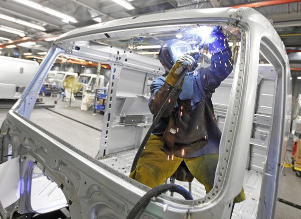 Service sector growing at fastest pace in 5 years; factories going full bore