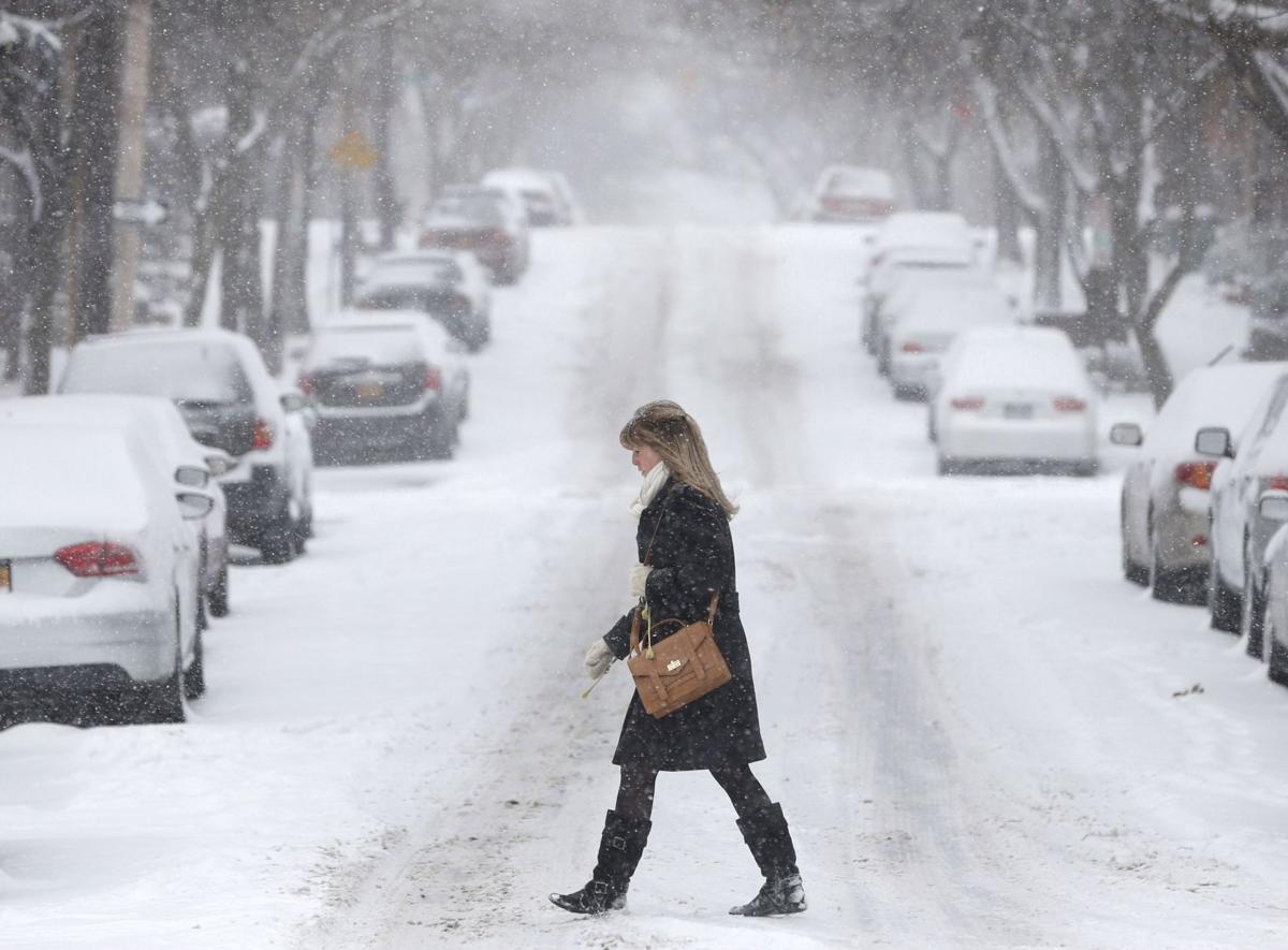 Fierce winter storm bearing down on northeast US