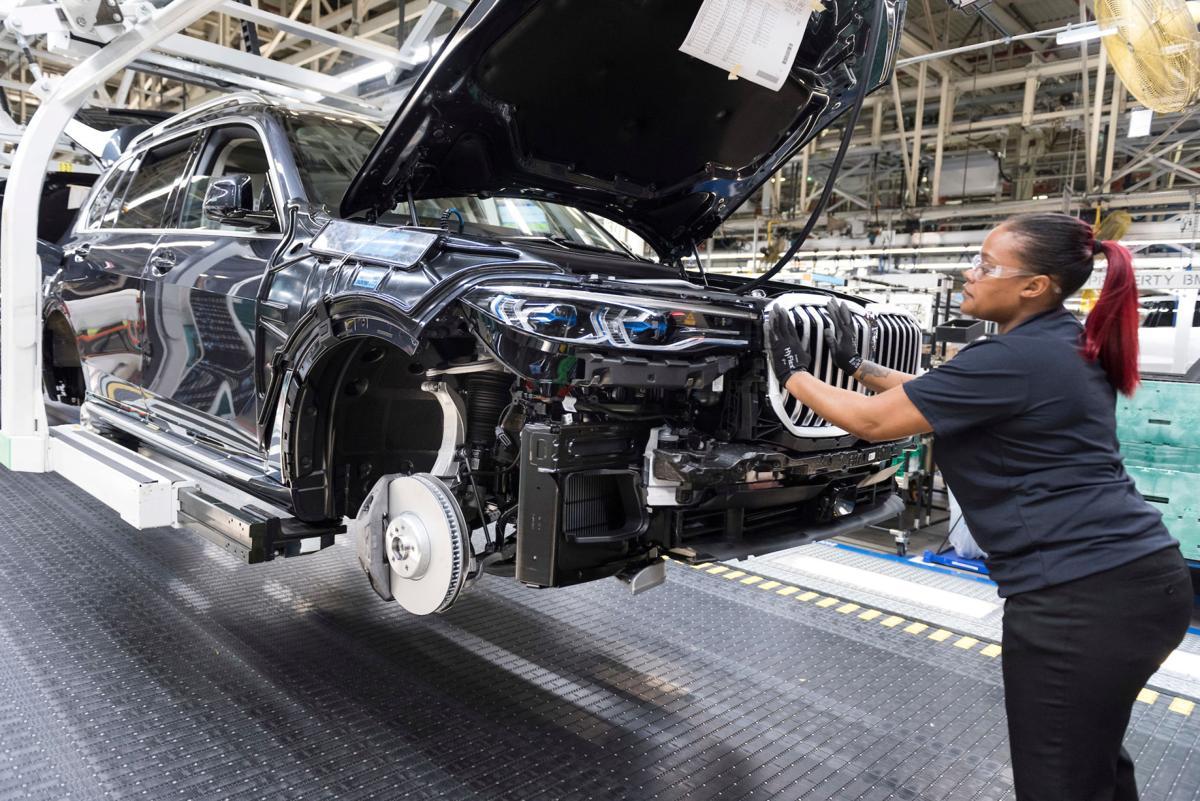 BMW factory Spartanburg County