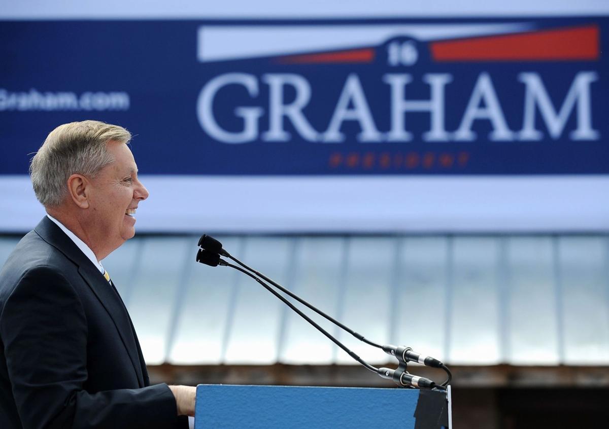 Graham got little splash as ninth into GOP pool
