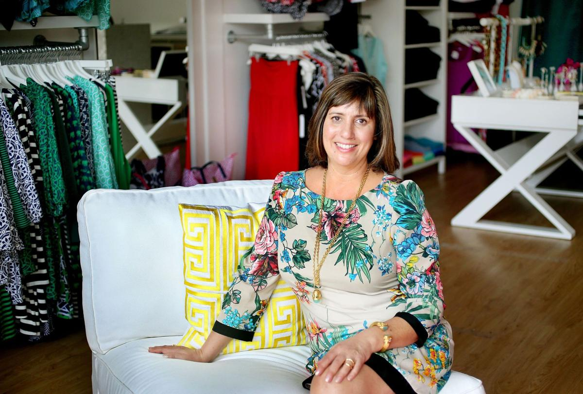 Sewing up success Global resort wear designer thrives from Mount Pleasant base