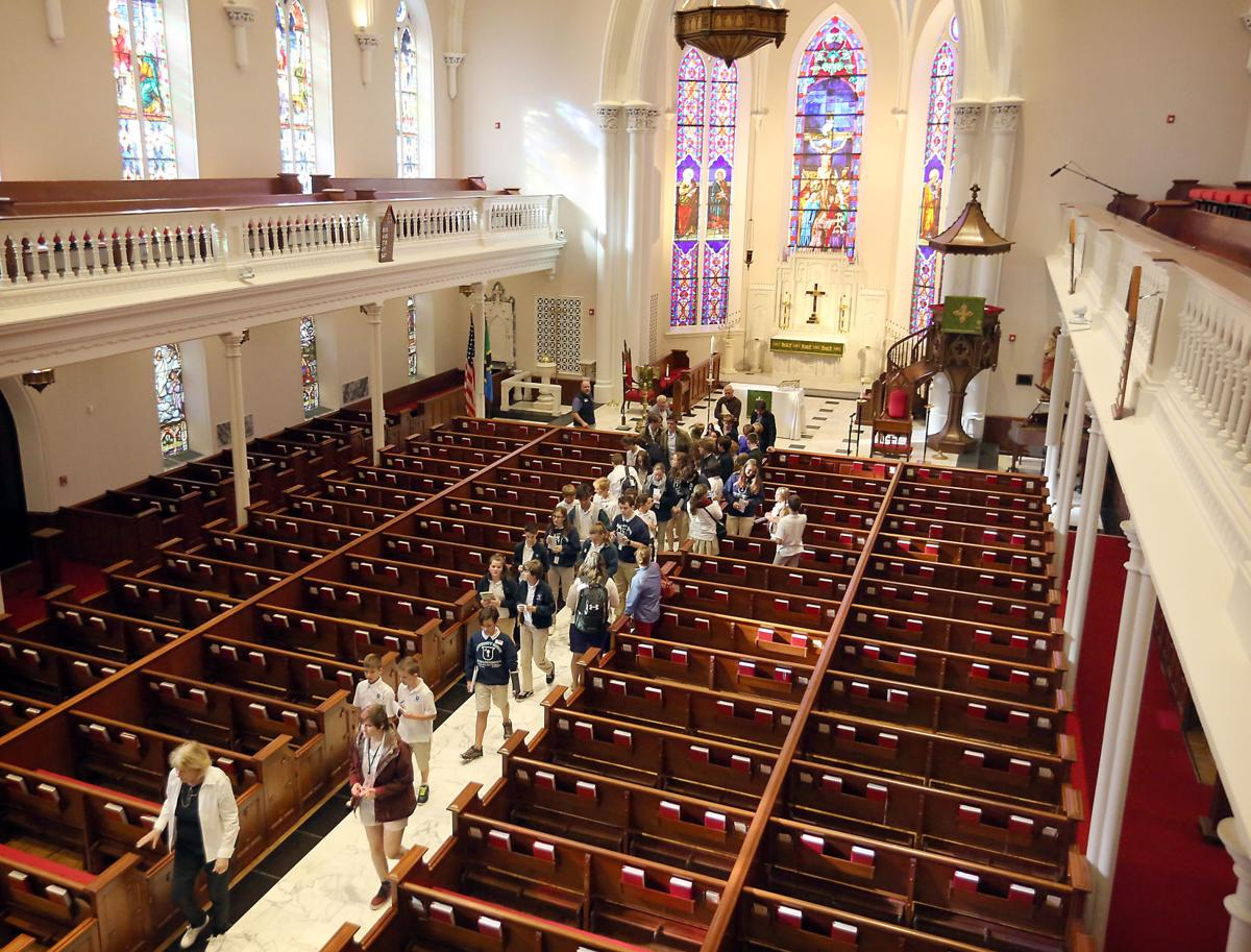 Lowcountry students visit St. Matthew's
