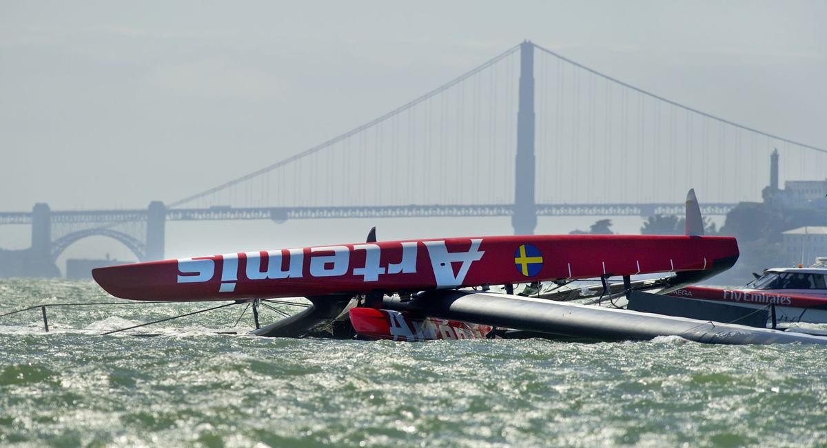 British sailor dies during America's Cup practice