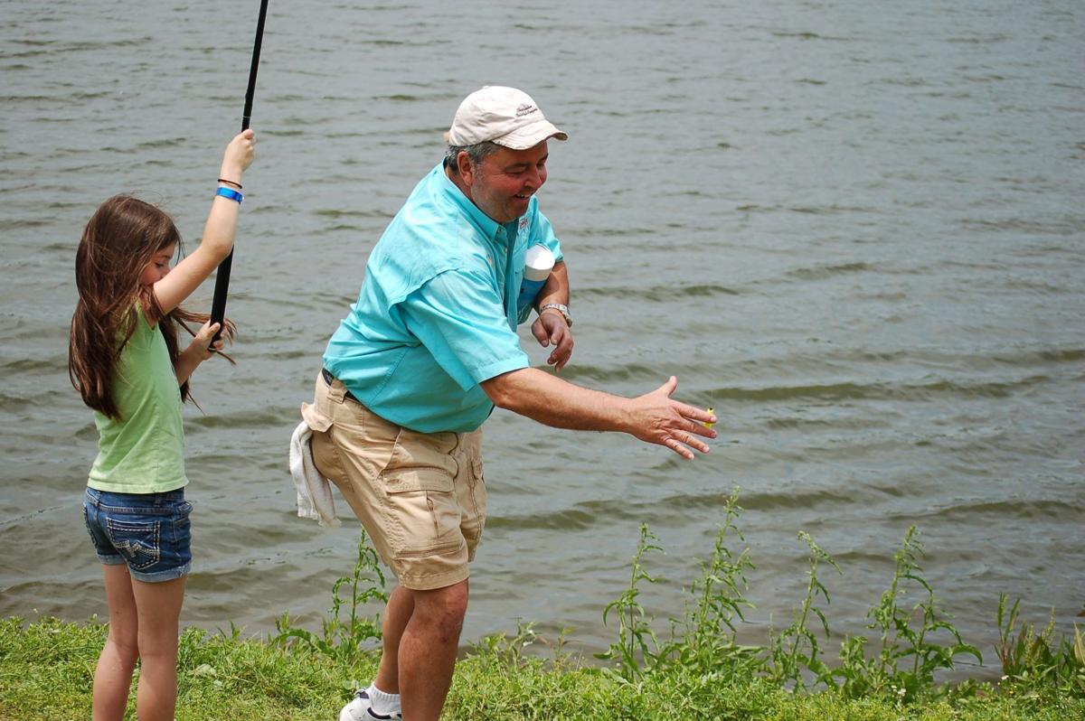 Local fishing club reels in fun for schoolchildren