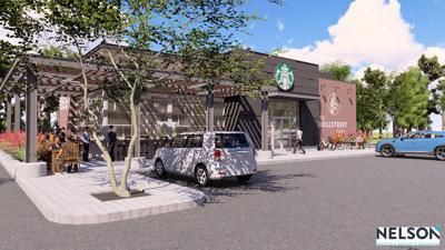 BullStreet Starbucks rendering Nov. 2019