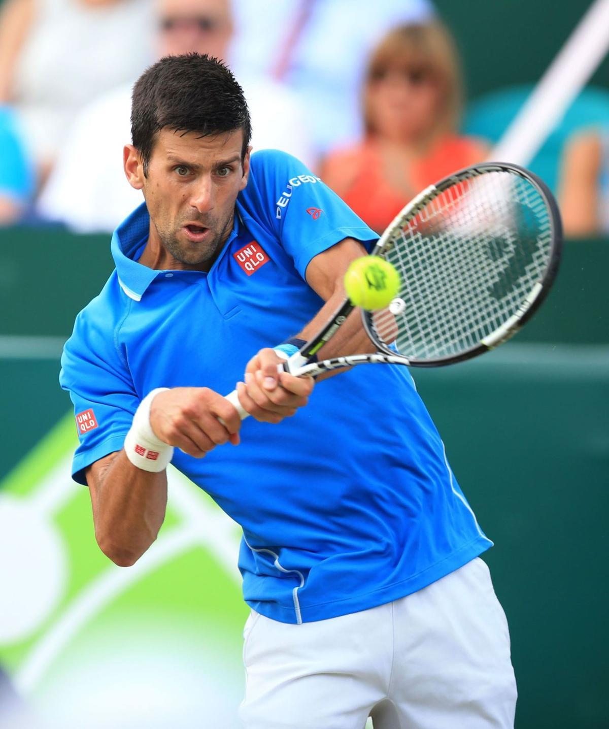 Top seed Djokovic focused