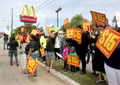 Pressing for pay raise As some places hike minimum wage, S.C. supporters face steep odds