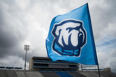 New Citadel Bulldog logo