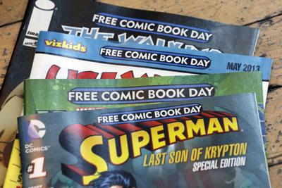 Comic books are free today