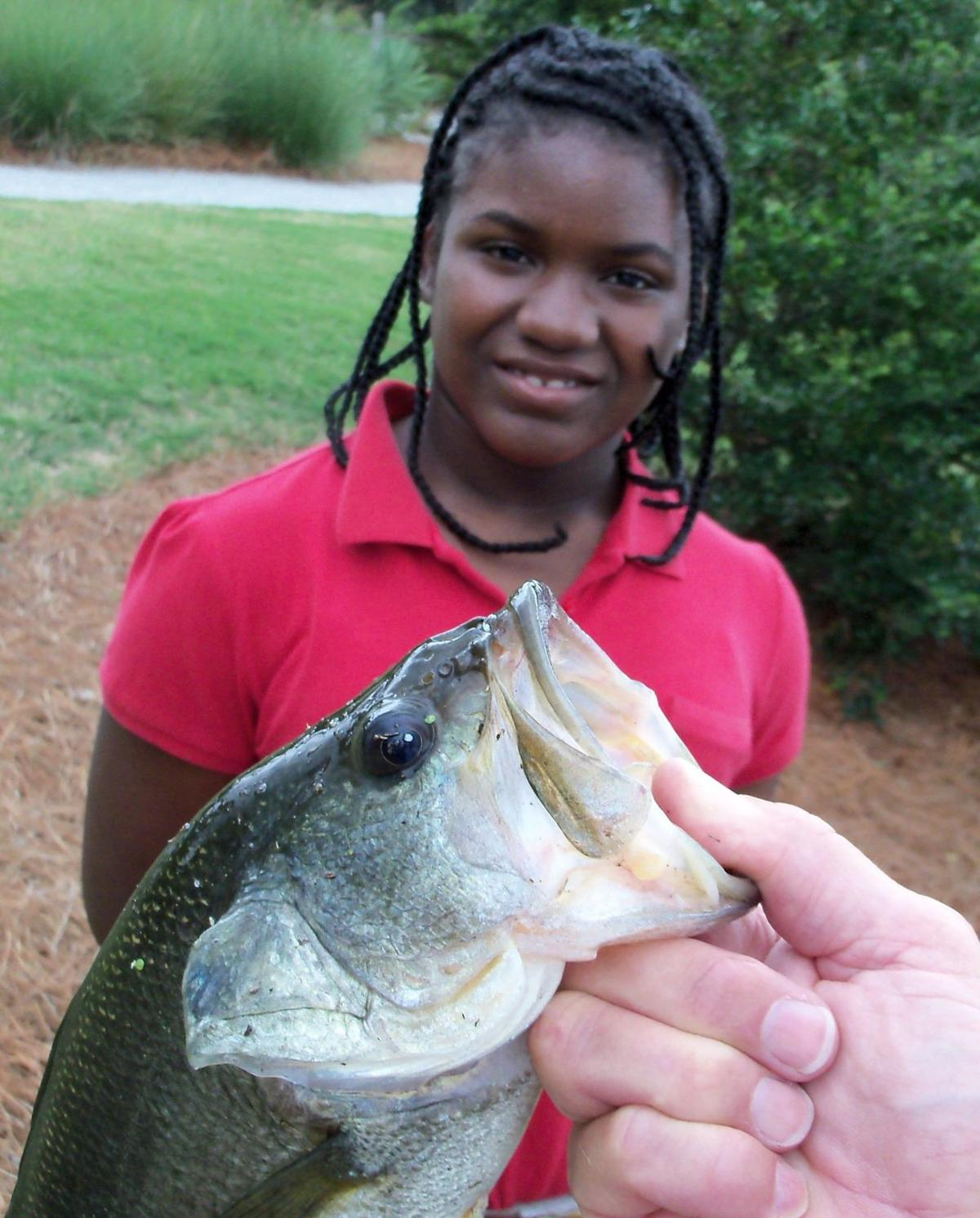 James Island Elementary students can earn fishing instruction