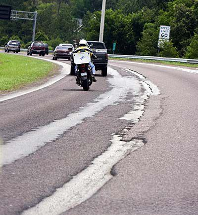 New surface added to road repairs