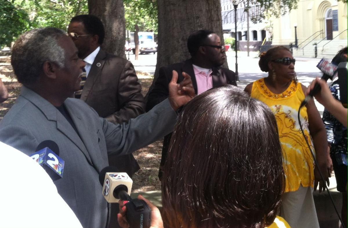 Charleston activists denounce Shabazz, tactics