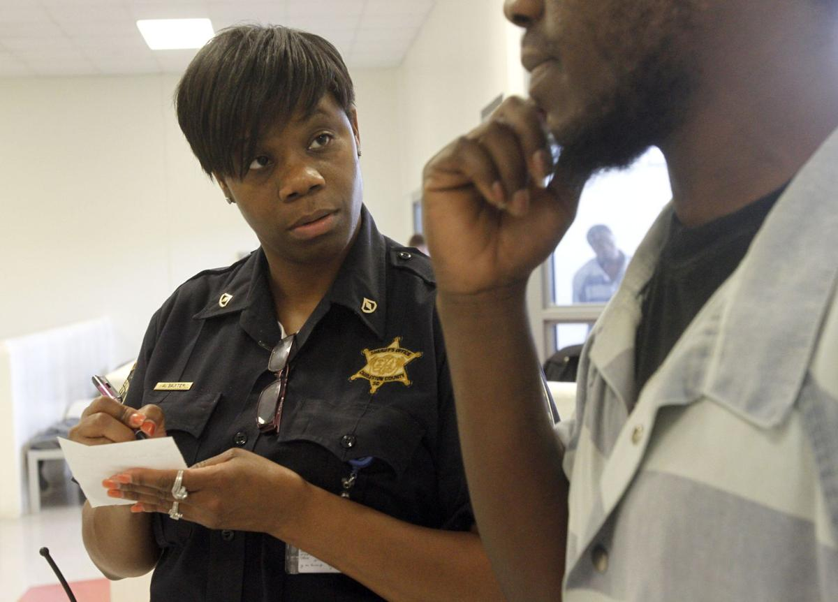 'Not for everybody' One guard per 64 inmates Being a female officer at the Charleston County jail is . . .