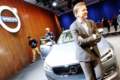 volvo sales set record as south carolina-made s60 debuts at