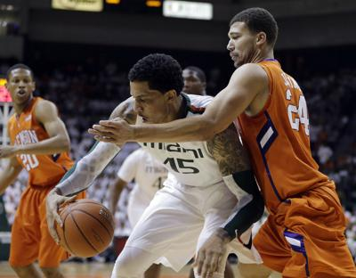Canes top Tigers, capture ACC title