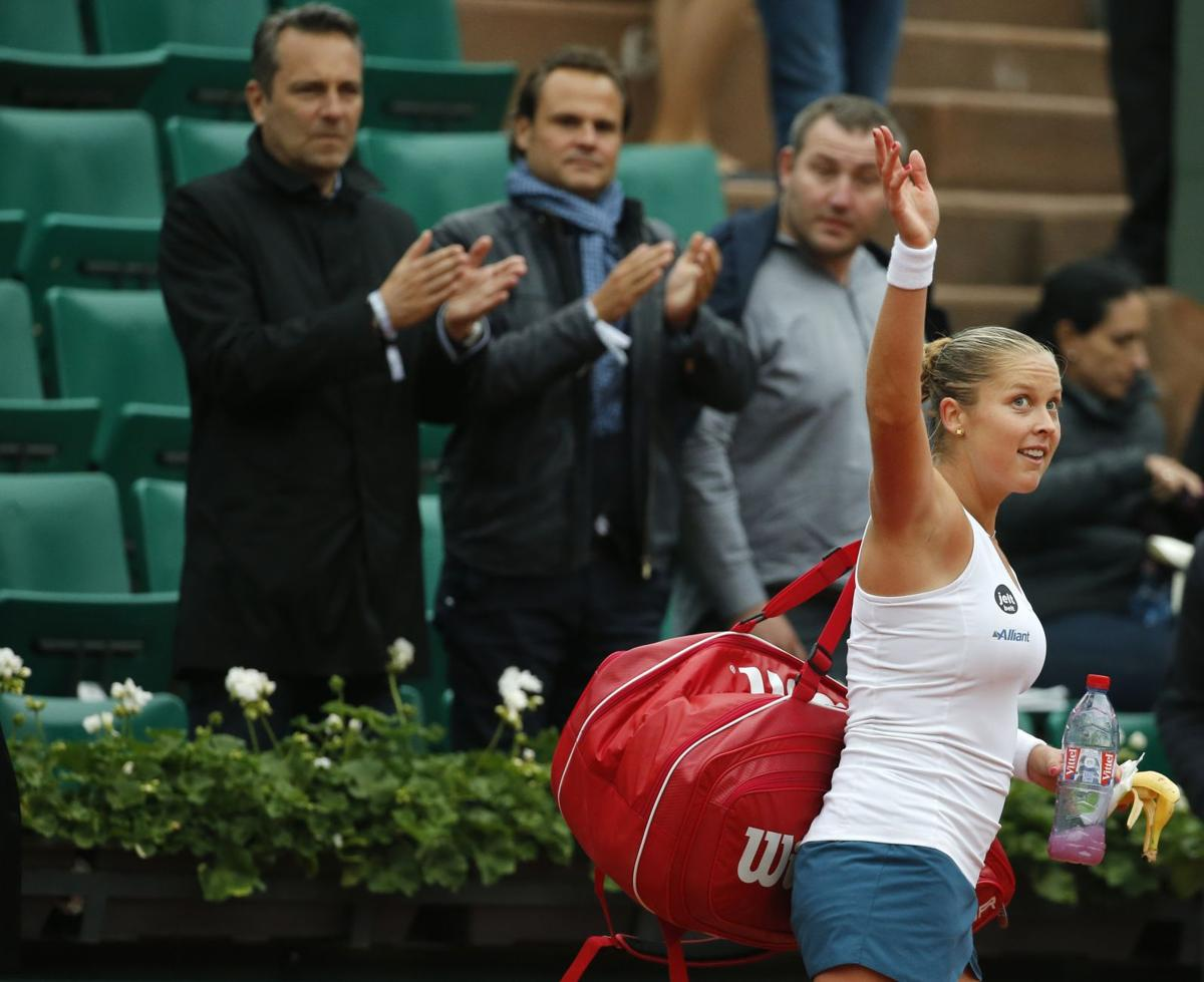 French Open: Shelby Rogers topped by Spain's Muguruza