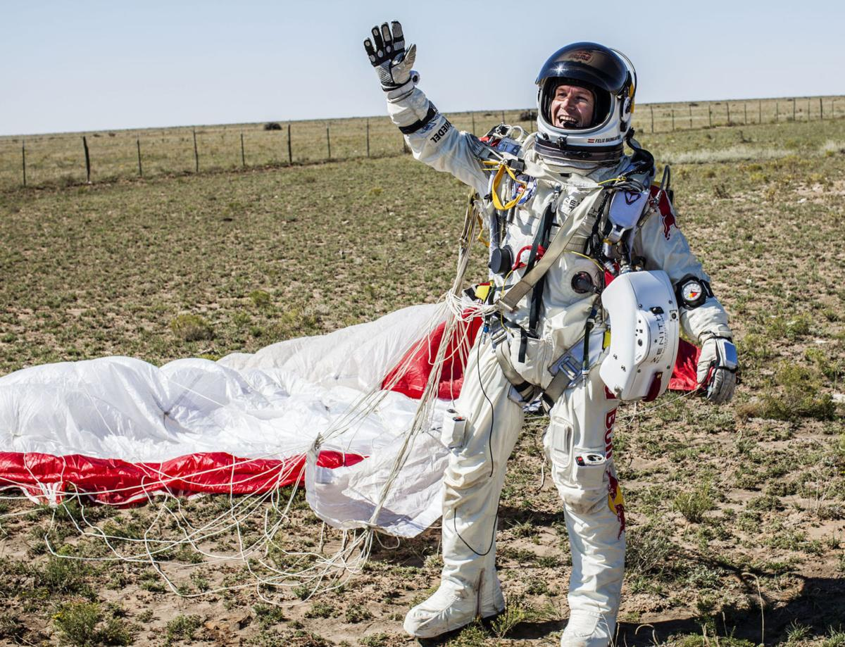 Extreme skydiver breaks sound barrier