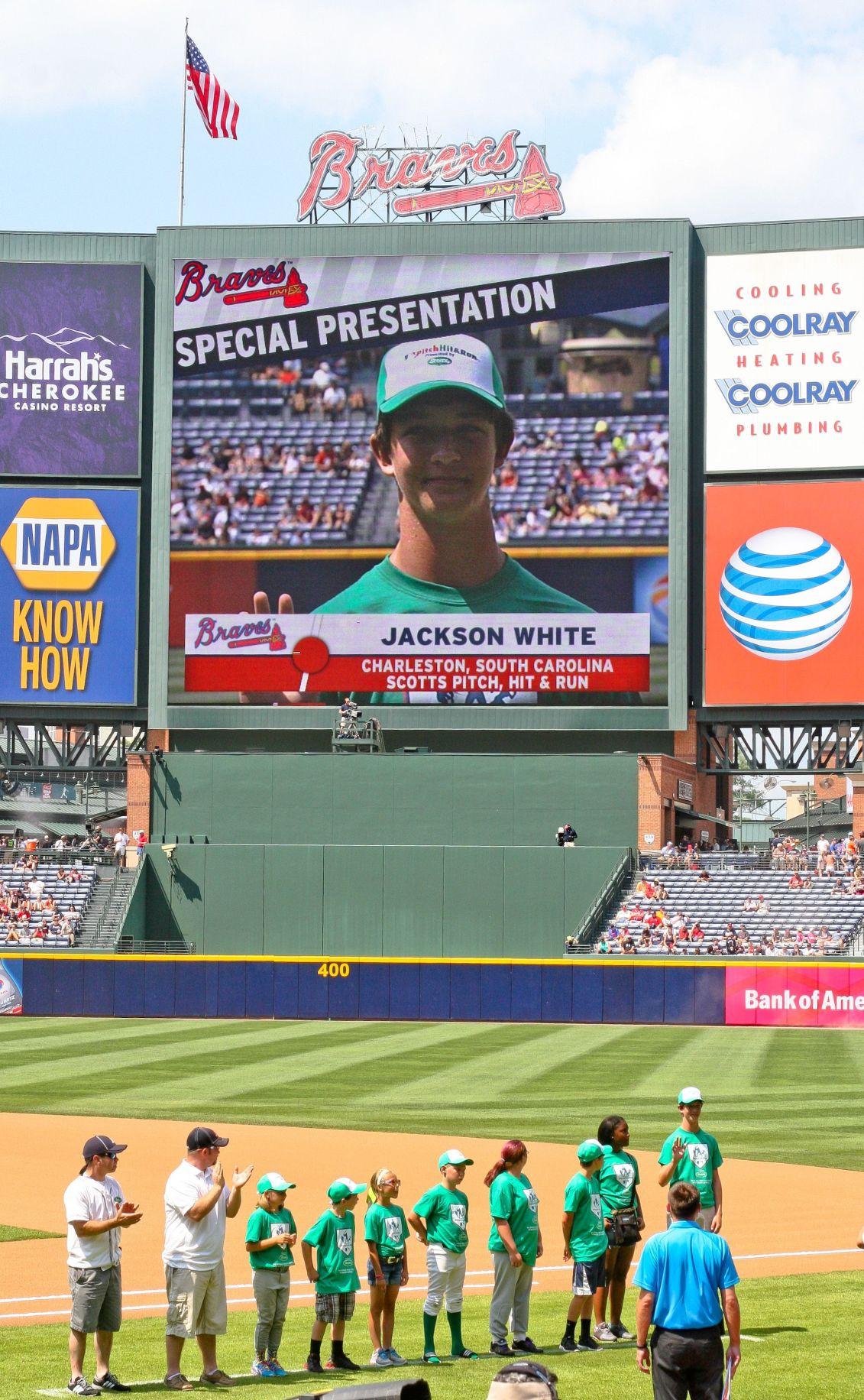 James Island's White earns shot at MLB All-Star Game