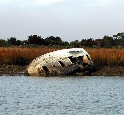 Abandoned boat removal begins